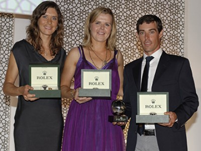 Women sport news - 2013 ISAF Rolex World Sailors Of The Year Announced