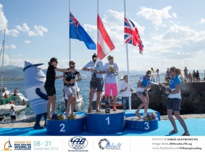 Women sport news - 2014 470 WOMEN'S WORLD CHAMPIONSHIPS - MEDAL RACE DAY REPORT