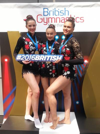 Women sport news - 2016 British Acrobatic Senior Champions