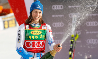 Women sport news - 3 in a row for Petra Vlhova
