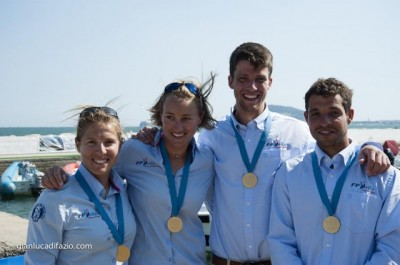 Women sport news - 470 European Championships - Medal Race Day