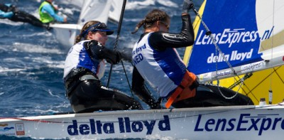 Women sport news - 470 World Championships - Race Day 2 Report