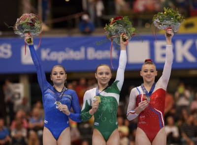 Women sport news - Anastasia Iliankova takes two titles on last day of Europeans