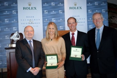 Women sport news - Anna Tunnicliffe Honored at US Sailing's Rolex  Yachtswoman of the Year Awards Ceremony