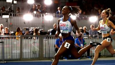 Women sport news - Asher-Smith soars to a British sprint title in Berlin