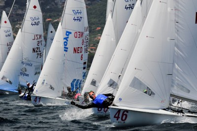 Women sport news - Australia and France on top after another beautiful day at the 2013  470 Championships