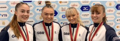 Women sport news - Britain take tumbling team world titles; silver for trampoline and DMT gymnasts