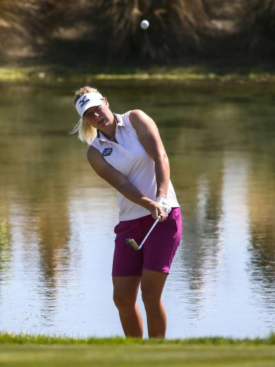 Women sport news - Broch Larsen leads ISPS Handa NZ Women's Open, Ko still in touch