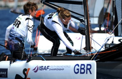 Women sport news - Cat sailors get the cream with Youth Worlds bronze for GBR