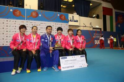 Women sport news - China Amazes Dubai to win Women's World Team Cup Title