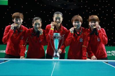 Women sport news - China Defends ITTF Team World Cup Titles in London