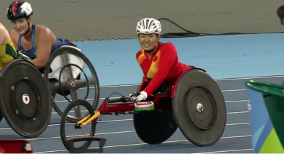 Women sport news - China's Zhou Wins the 400m T53