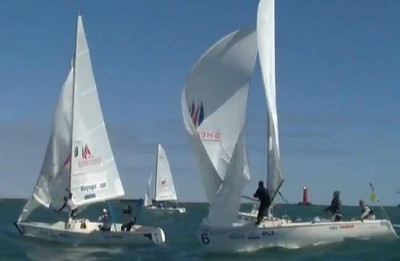 Women sport news - Claire Leroy Wins The 2011 ISAF Nations Cup Grand Final