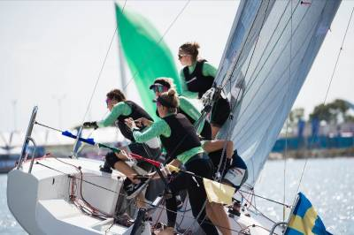 Women sport news - Close Racing at the Second Day of China International Women's Match Race