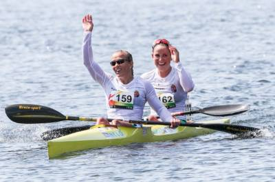 Women sport news - Csay and McGregor, biggest names in canoe marathon, win gold once again