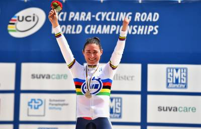 Women sport news - DAME SARAH STOREY TAKES GOLD IN TIME-TRIAL ON OPENING DAY OF UCIPARA-CYCLING ROAD WORLD CHAMPIONSHIPS