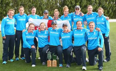 Women sport news - Double success for England Women�s Cricket Stars