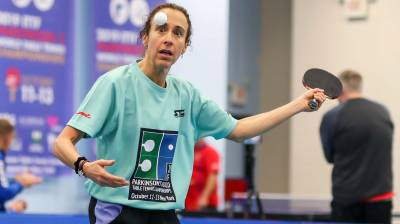 Women sport news - Dream becomes reality at inaugural ITTF Parkinson's World Table Tennis Championships in New York!