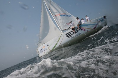 Women sport news - Echegoyen Undefeated After the second  Day In Busan
