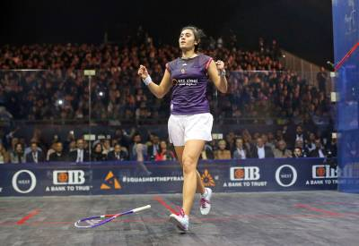 Women sport news - Egypt's El Sherbini Claims Fourth World Championship Crown