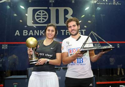 Women sport news - El Sherbini and Gawad Qualify for PSA World Tour Finals