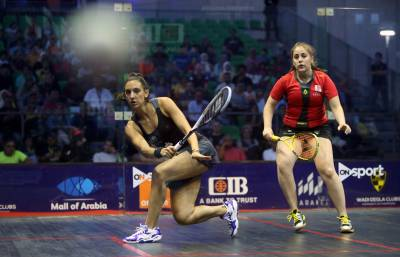 Women sport news - El Sherbini Crashes Out of CIB PSA World Tour Finalsas Semi-Finalists Are Confirmed