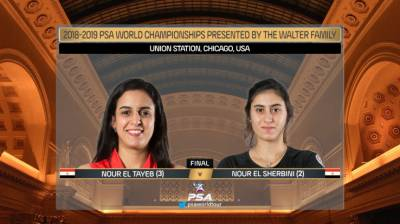Women sport news - EL SHERBINI NAMED PSA PLAYER OF THE MONTH FOR MARCH