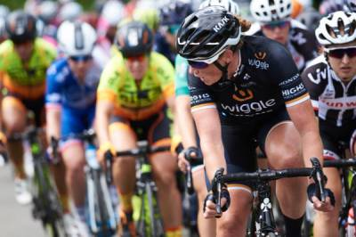 Women sport news - Elisa Longo Borghini In OVO Women's Tour Mountains Jersey After Aggressive Stage 2