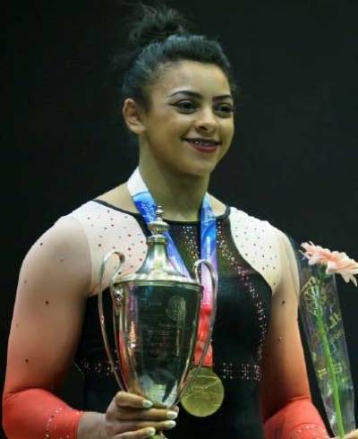 Women sport news - Ellie Downie Wins British Artistic Gymnastics Title