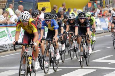 Women sport news - Emilia Fahlin Sprints To Second Place In Lotto Belgium Tour Stage Two