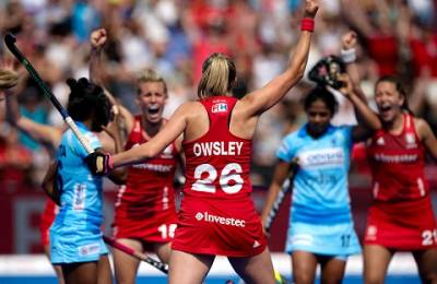 Women sport news - England battle back to draw Vitality Hockey Women's World Cup opener with India