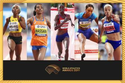 Women sport news - Finalists announced for Female World Athlete of the Year 2019