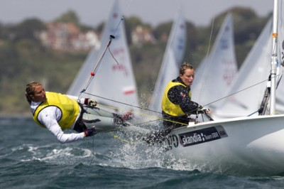 Women sport news - Fun and frustration for GBR on day six ofOlympic test regatta
