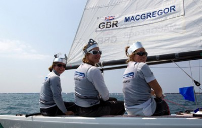 Women sport news - GBR women lead the charge on final day at the ISAF Sailing World Cup regatta in Hyeres