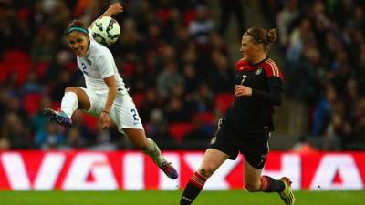 Women sport news - Germany too strong during historic Wembley match