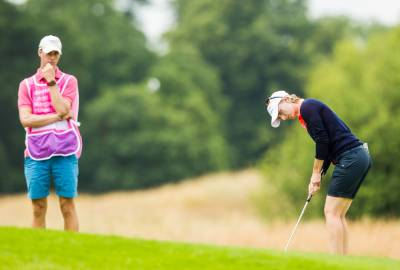 Women sport news - Giquel-Bettan leads by one at ISPS HANDA Ladies European Masters