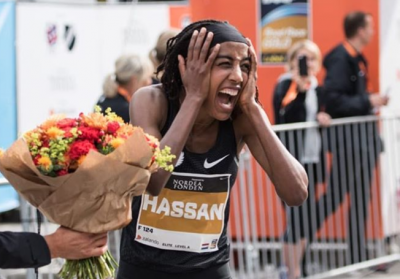 Women sport news - Hassan shatters European half marathon record with 65:15 in Copenhagen