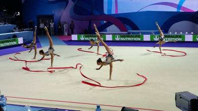 Women sport news - Israeli Gymnasts Score an Historic Gold in European Championships