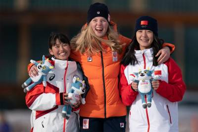 Women sport news - Japan claims fourth speed skating medal in St Moritz