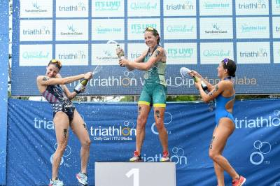 Women sport news - Jeffcoat crowned with Mooloolaba gold in front of a home crowd
