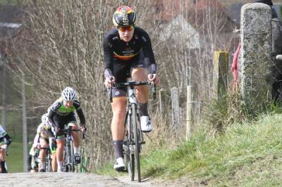 "Women sport news - Jolien D'hoore: ""I Want To Pay Tribute To What Happened In Brussels"""