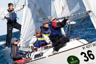 Women sport news - Junior women sailors learn advanced Keelboat Racing