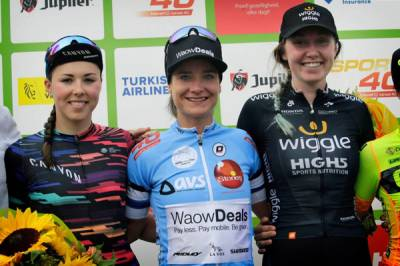 Women sport news - Katie Archibald Closes BeNe Ladies Tour With Third Place Overall