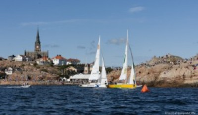 Women sport news - Keen skippers practising at Swedish westcoast waters.