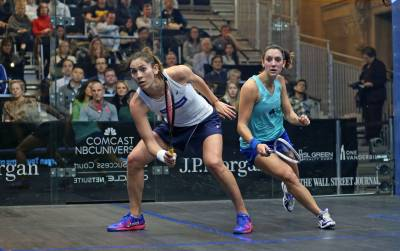 Women sport news - King Gatecrashes Egyptian Dominance in J.P. Morgan Tournament of Champions Quarter-Finals