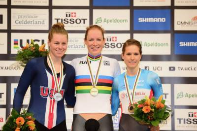 Women sport news - Kirsten Wild Takes Incredible Third World Title With Points Race Win