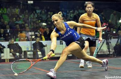 Women sport news - Laura Massaro Marches On In Cairo