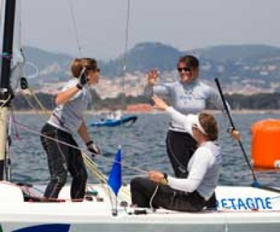 Women sport news - Lighter winds provide mixed fortunes at Hyeres World Cup
