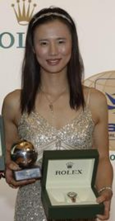 Women sport news - Lijia Xu Named 2012 ISAF Rolex World Female Sailor Of The Year