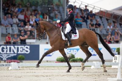 Women sport news - London Calling for Team GBR rider who takes the lead after theopening day's action in Luhmühlen.